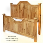 Hickory Houston Bed