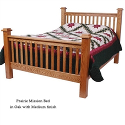 Oak Prairie Mission Bed