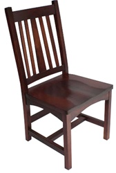 Oak Eastern Dining Room Chair, Without Arms