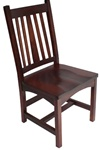 Quarter Sawn Oak Eastern Dining Room Chair, Without Arms