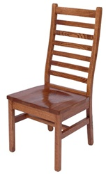 Hickory Railroad Dining Room Chair, Without Arms