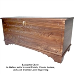 Walnut Lancaster Chest
