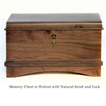 Walnut Memory Chest