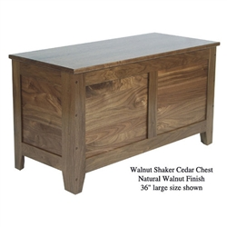 Walnut Shaker Chest