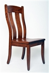 Oak Lancaster Dining Room Chair, Without Arms