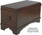Cherry Classic Cedar Chest