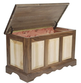Mixed Wood Hope Chest
