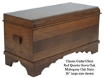 Quarter Sawn Oak Classic Chest