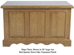 Quarter Sawn Oak Hope Chest