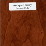 Antique Cherry Wood Sample