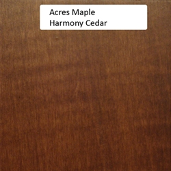 Acres Maple Wood Sample