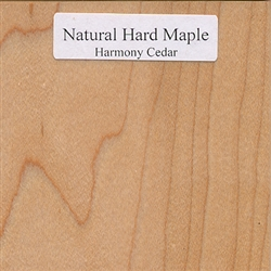 Natural Maple Wood Sample