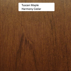 Tuscan Maple Wood Sample