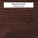 Blackened Oak Wood Sample