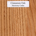 Cinnamon Oak Wood Sample