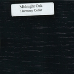 Midnight Oak Wood Sample