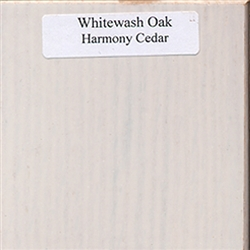 Whitewash Oak Wood Sample