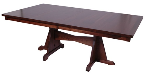 110 x 42 cherry colonial dining room table - Colonial Dining Room Furniture