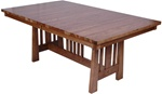 "50"" x 32"" Oak Eastern Dining Room Table"
