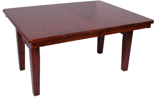 54 X Mixed Wood Lancaster Dining Room Table