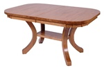 "80"" x 42"" Maple Montrose Dining Room Table"