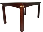 "36"" x 36"" Hickory Shaker Dining Room Table"
