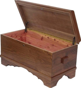 Walnut Classic Cedar Chest