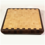 Pizza Serving Tray - Mixed Wood