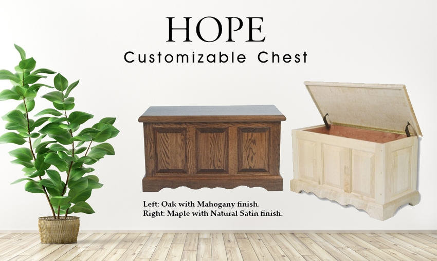 Hope Chests Wooden Handcrafted ~ Hope chest