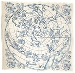 Celestial Gems Napkins. Set of 6.