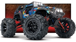 TRA72054-5 Traxxas Summit 1/16 4WD RTR Truck (Rock n Roll) w/TQ Radio, LED Lights, Battery