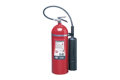 BADGER CARBON DIOXIDE 20LB 10-B:C EXTINGUISHER