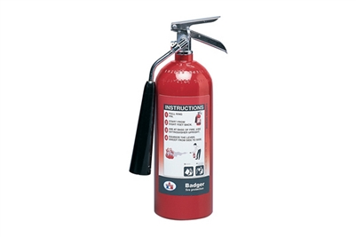 BADGER CARBON DIOXIDE 5LB 5-B:C EXTINGUISHER