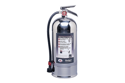BADGER CLASS K WET CHEMICAL 6L EXTINGUISHER