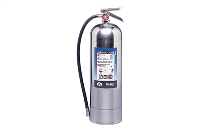 BADGER PRESSURIZED WATER 9.46L EXTINGUISHER