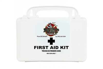 MARITIME SAFETY - NOVA SCOTIA LEVEL 1 FIRST AID KIT