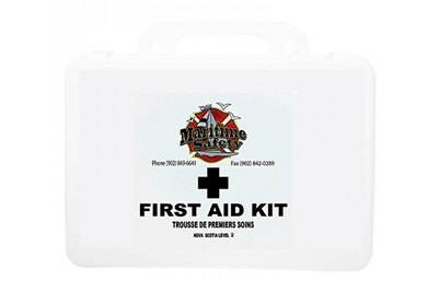 MARITIME SAFETY - NOVA SCOTIA LEVEL 2 FIRST AID KIT