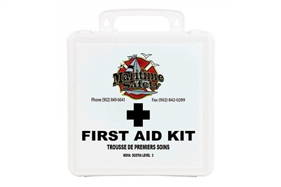 MARITIME SAFETY - NOVA SCOTIA LEVEL 3 FIRST AID KIT