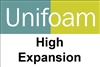 UNIFOAM HIGH EXPANSION FOAM