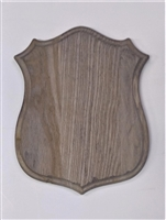 Weathered Wood Badge Shoulder Mount Panel 18x23