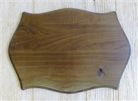 Black Walnut Double Gun Rack Panel 16x23