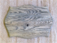 Weathered Wood Double Gun Rack Panel 16x23