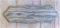 Weathered Wood Single Gun Rack Panel 8x23