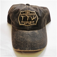 TTW Hat Weathered Brown Cotton Twill