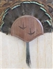 Black Walnut Turkey Fan Beard Mounting Kit with Carved Tracks - 01