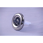 Jet Rotational Poly Storm SS/Gray- 4""