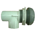 Waterfall Control Valve Gray- 1""