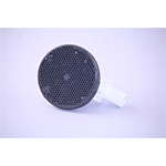 "Floor Drain Graphite- 3/4"" Barb, 612480"