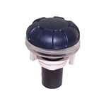 "1"" Top-Access Air Control Valve, 6-Spoke Style- Dark Bl"