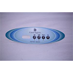 Label, Overlay, 1 Pump Oval Cool Nights Series Spas,